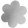 Metal Blank 24ga German Silver Flower 34mm No Hole